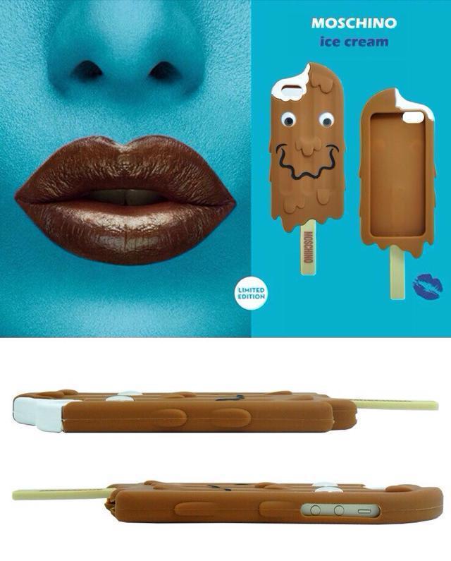 巧克力冰棍创意手机壳