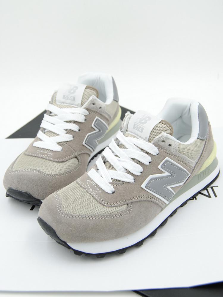 nb574新款元祖灰情侣运动鞋