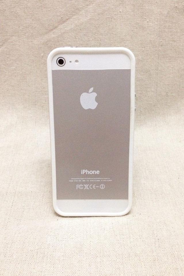 苹果4,5s简约信号圈边框手机壳