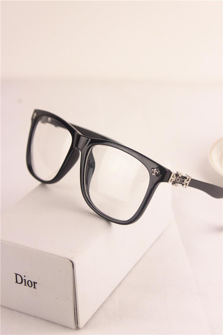 新款韩版复古大框平光眼镜