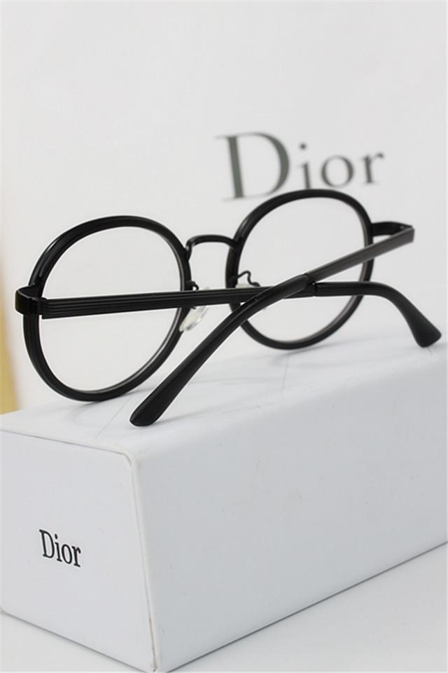复古椭圆形可爱眼镜框