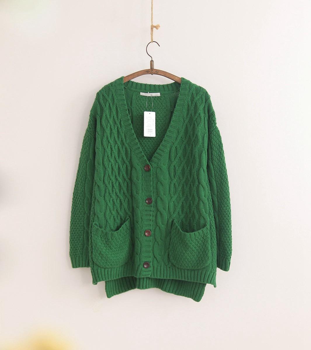 墨绿色开身毛衣-来自蘑菇街优店