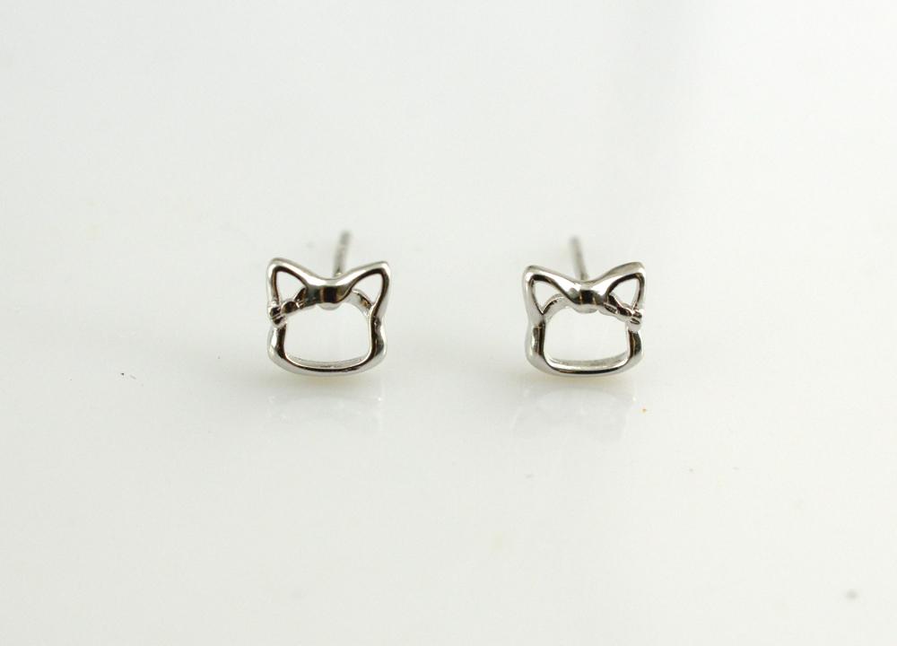 小可爱猫咪耳钉