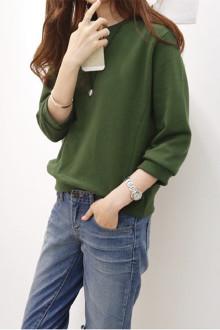 韩版糖果色卫衣
