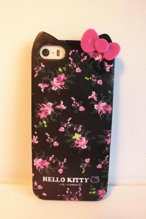 森系黑色玫瑰iphone手机壳