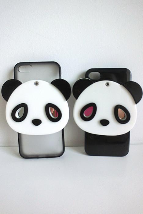 超萌可爱大熊猫iphone壳