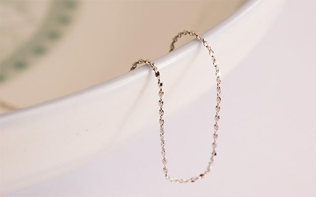 925银满天星项链