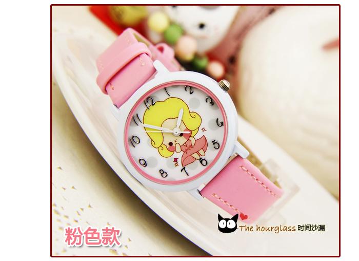 可爱胖妞小女孩卡通小巧手表