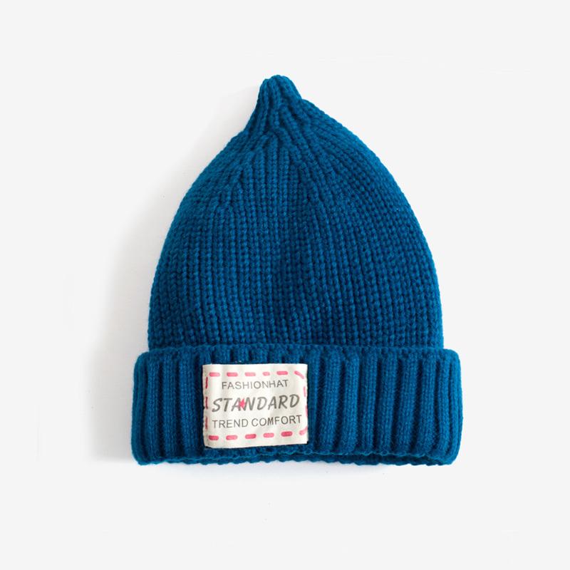 粗毛线粗棒针加厚针织毛线帽