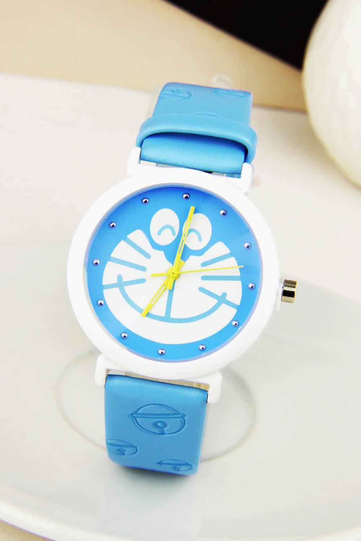 可爱卡通哆啦a梦皮带手表