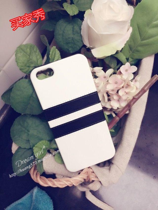 欧美黑白条纹情侣手机壳