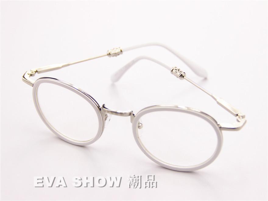 【克罗心】最新款可爱圆框眼镜