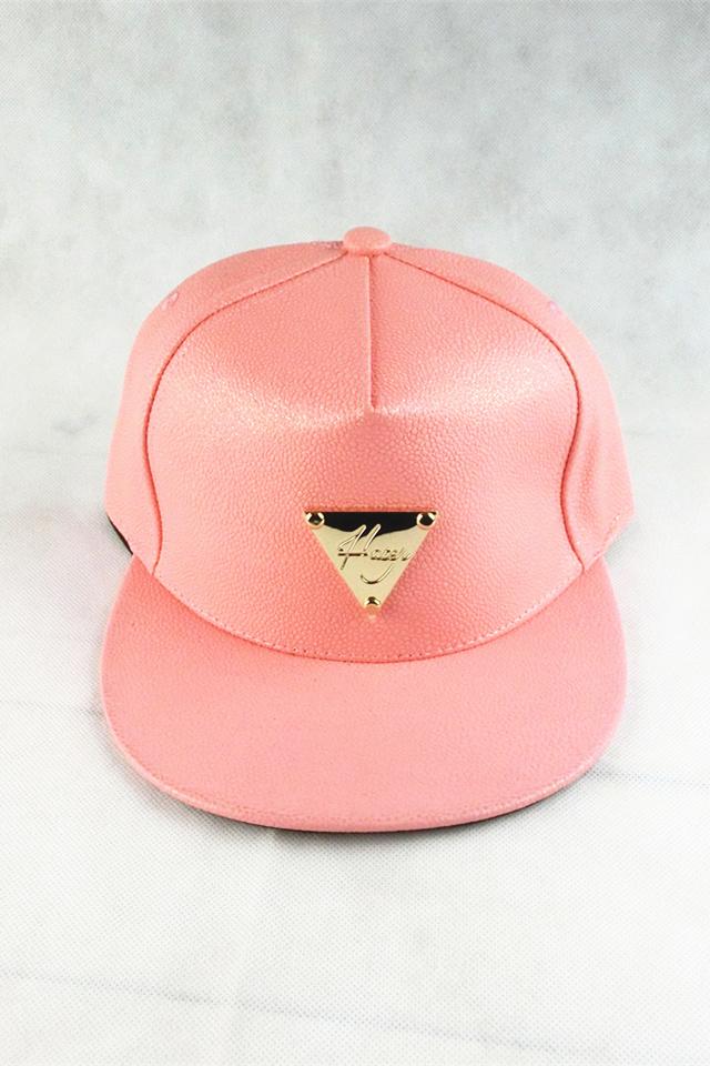 韩版秋冬新款花纹皮质帽子