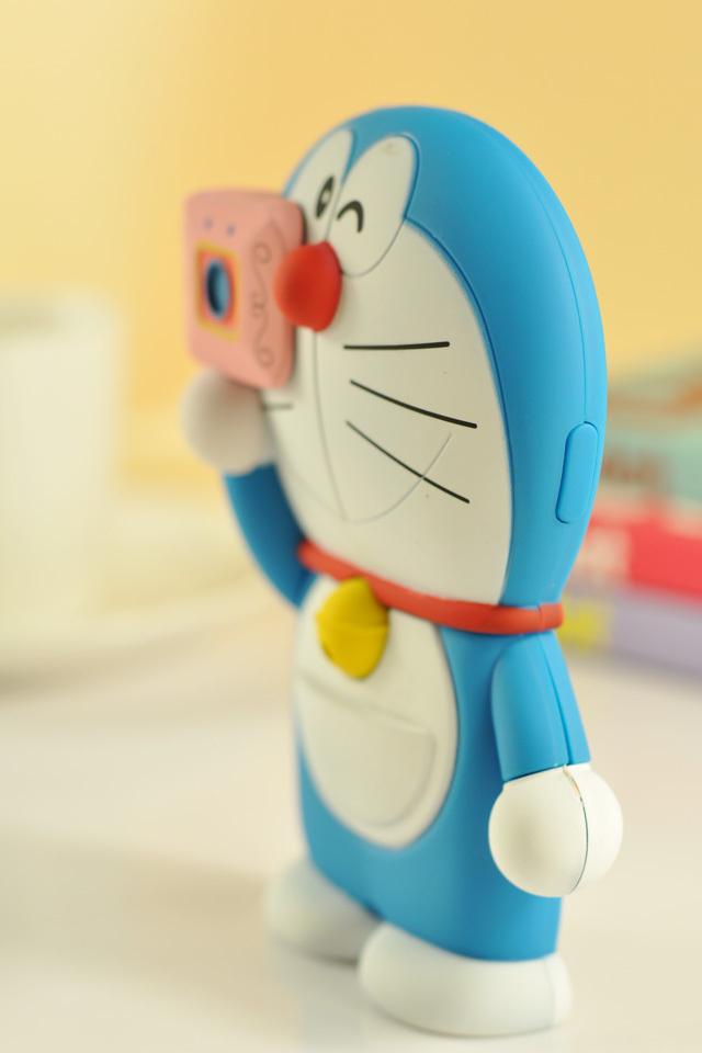 可爱哆啦a梦蓝色iphone手机壳