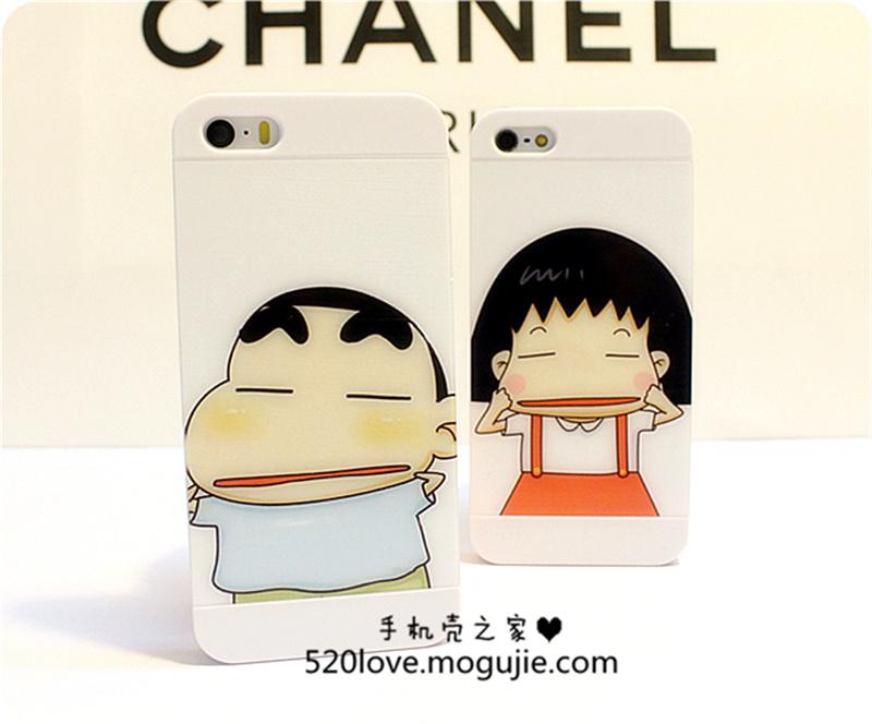 iphone5/6蜡笔小新情侣保护壳