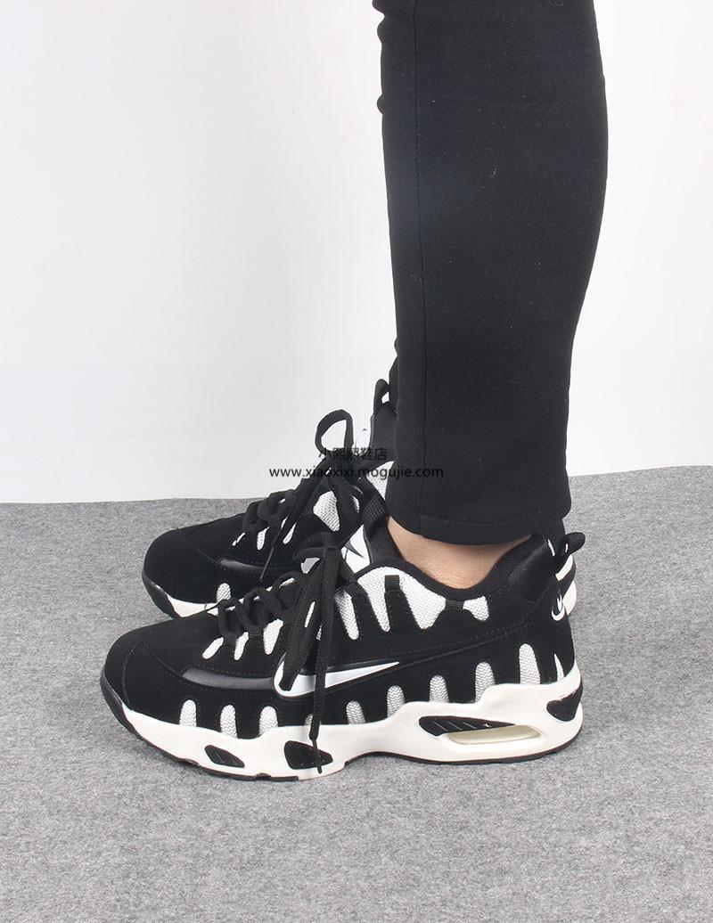 鱼翅黑白运动鞋