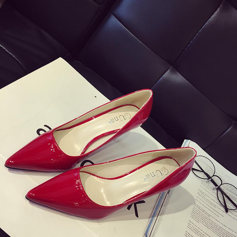 欧美性感细跟高跟鞋