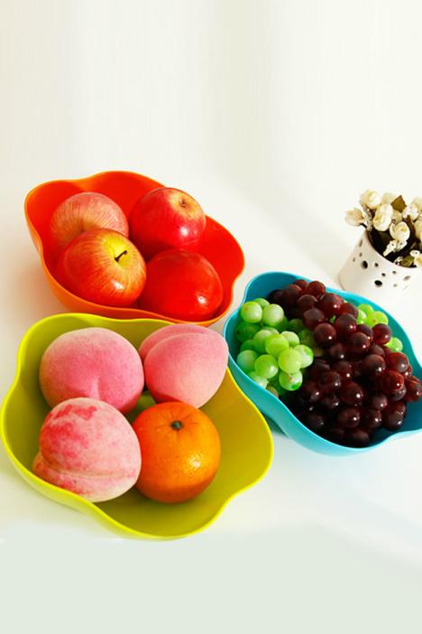 水果盘,创意水果盘,盘子,花型水果盘,干果盘,梅花形水果盘,盘图片
