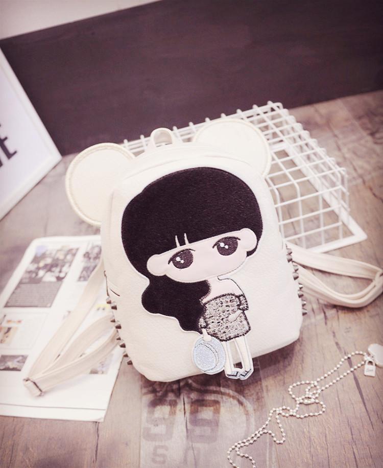 【超萌可爱女生卡通背包】-包包-双肩包