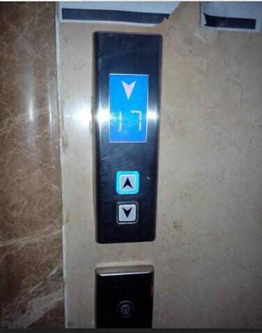 【西子奥的斯电梯外呼面板