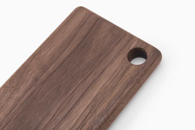 物应 餐厅定制 简约日式 原木黑胡桃 砧板寿司板 水果切板