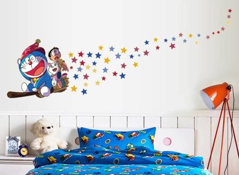 多啦a梦,大雄,卡通,动漫,菊花,墙贴画,阳光,爱情,欧美,阳台,电视背景