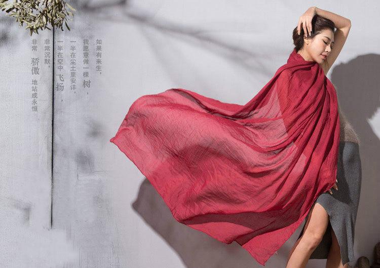 红色中国风纯色背景素材