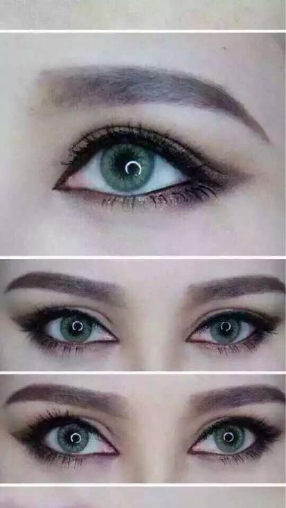 外国人的眼睛 美瞳玻璃球