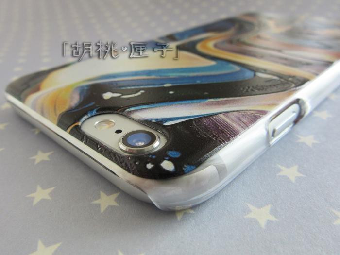 浮雕水墨画苹果手机壳