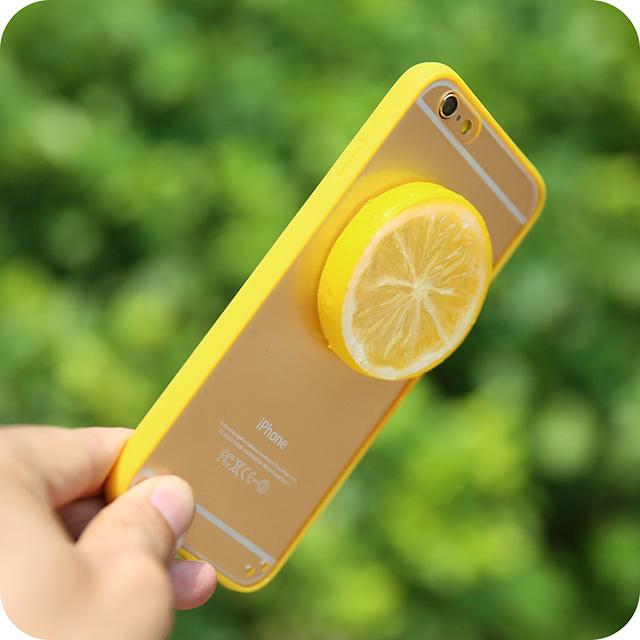 夏日小清新西瓜柠檬iphone手机壳
