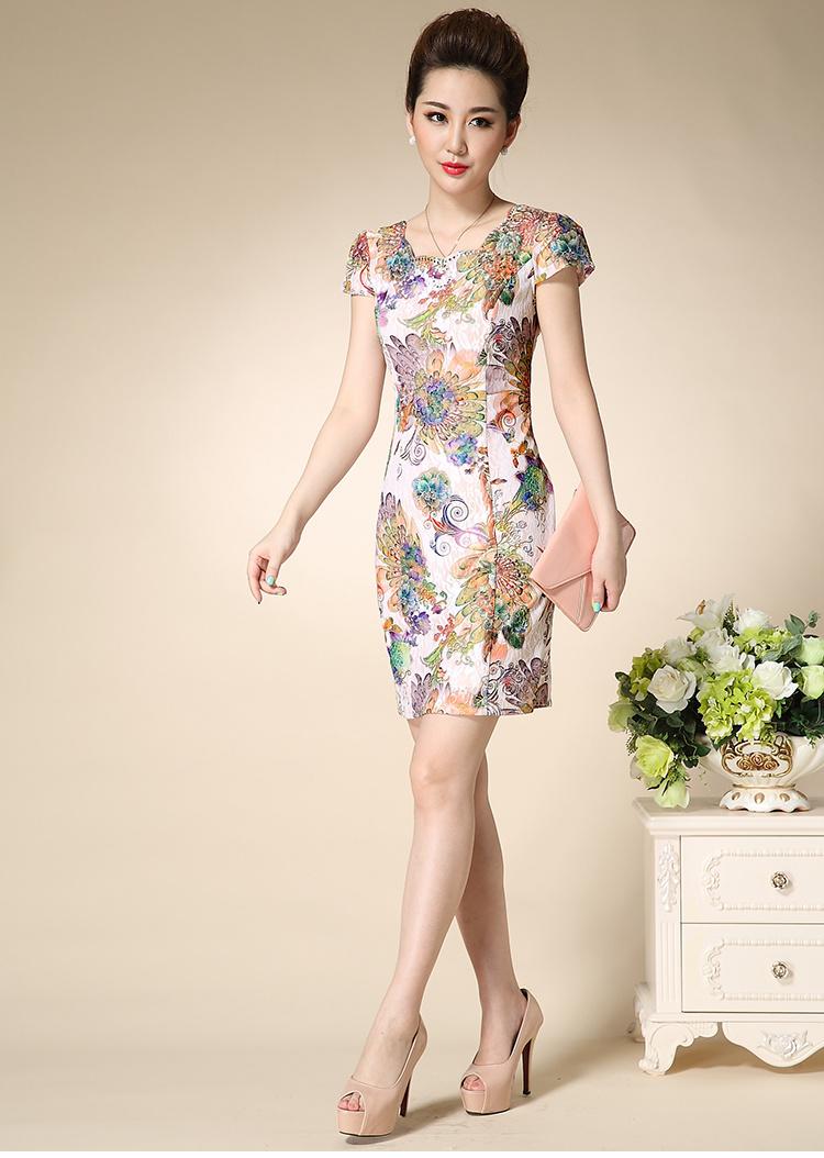 旗袍裙夏装时尚