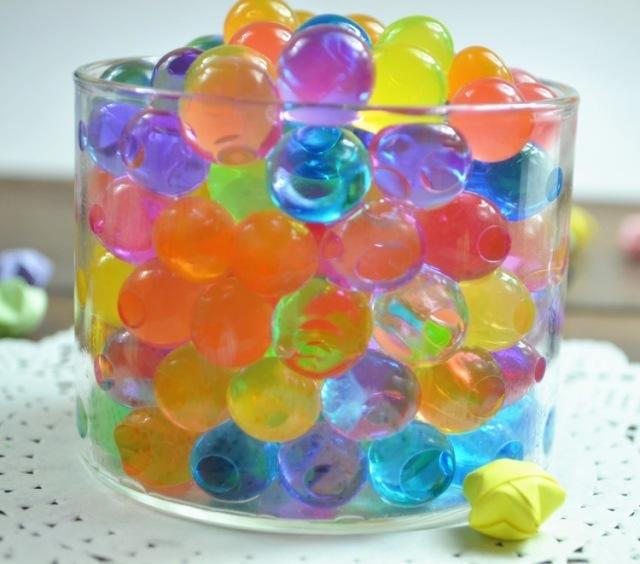 买二送一宝贝玩具 水晶泥海洋宝宝吸水珠 泡大珠100g装