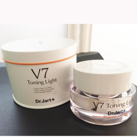 蒂佳婷dr.jart+v7素颜美白霜