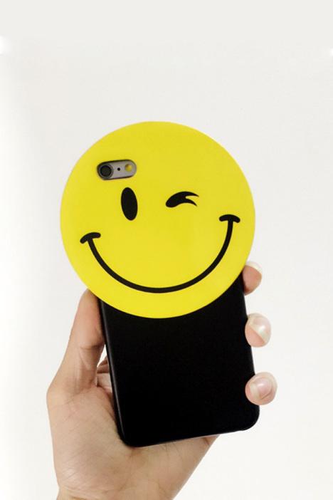 手机,手机壳,小清新,卡通,新款,韩国代购,笑脸