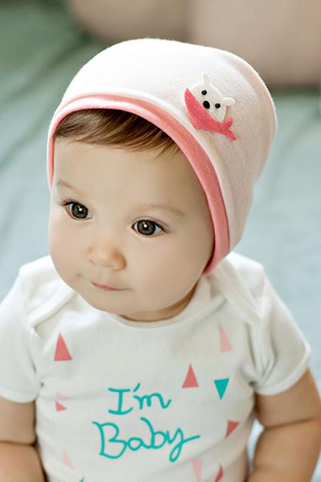 韩国,可爱,纯棉,春夏,新款,宝宝套头帽