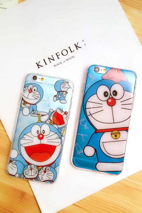 手机壳,苹果,6s,哆啦a梦,樱桃小丸子,手机保护套,kitty