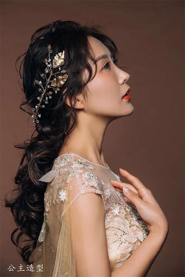 欧式复古巴洛克皇冠新娘头饰发箍发饰金色图片图片