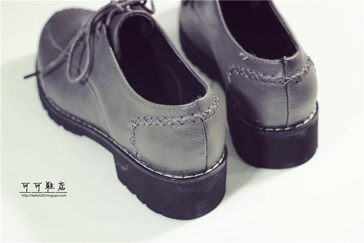 尖头女皮鞋