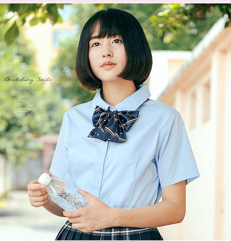少女装新款配饰蝴蝶结学院风女生领花套头校服日本jk制服领结