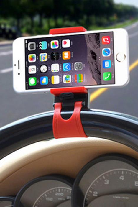 车载通方向盘导航手机支架