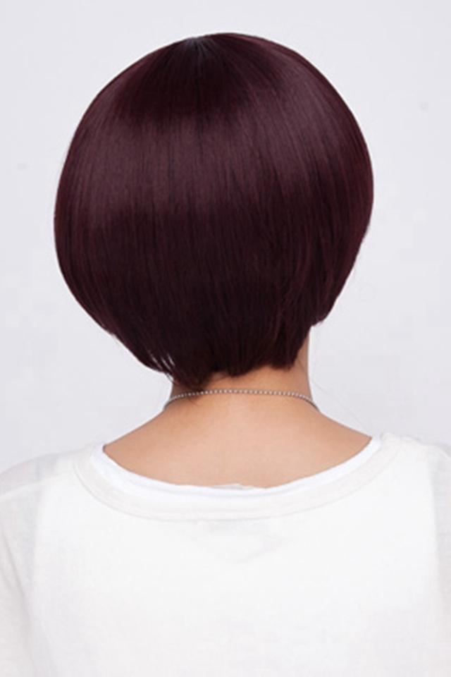 蘑菇头短发假发女 bobo头假发套