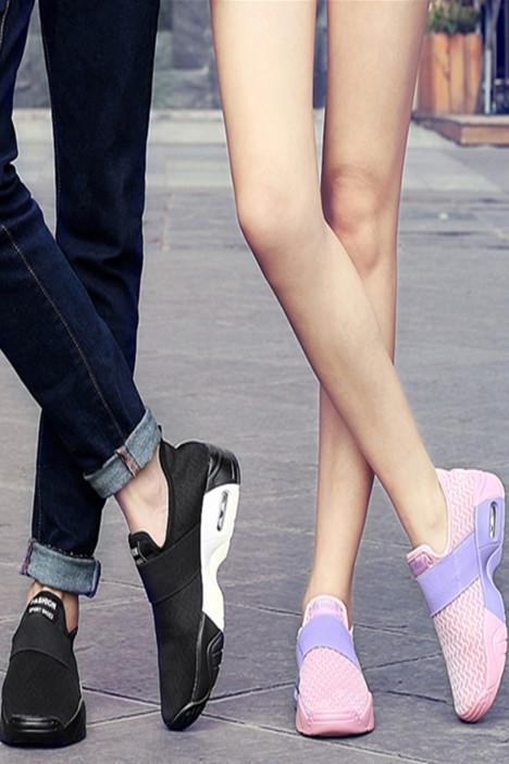 希路 夏季情侣跑步运动鞋