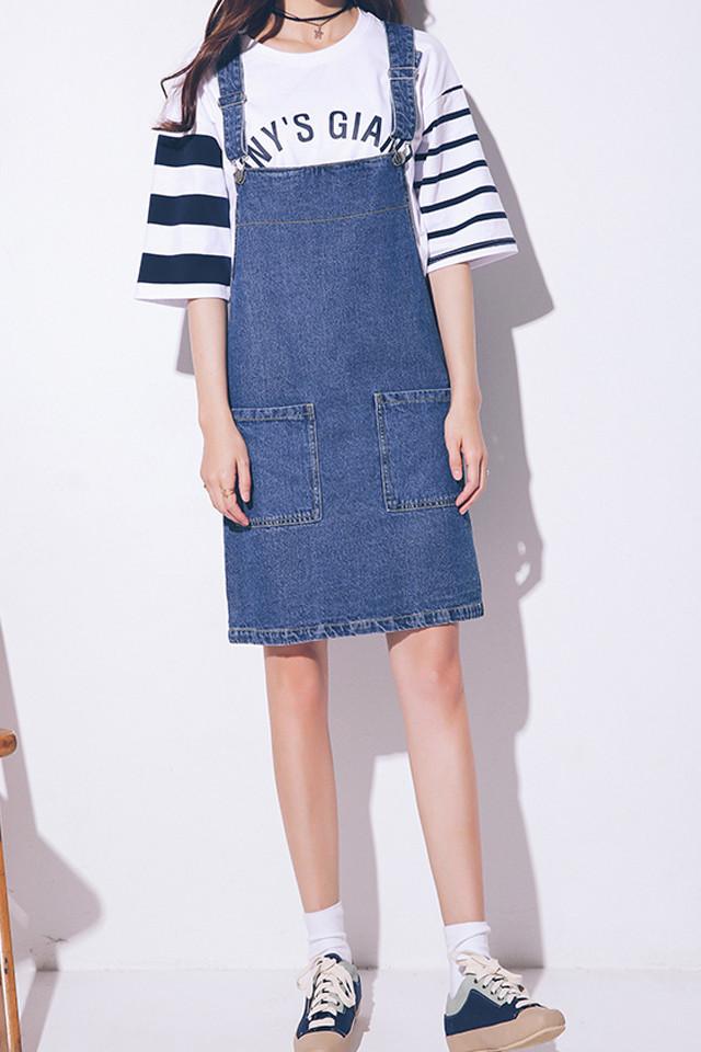 牛仔裙】-衣服-裙子