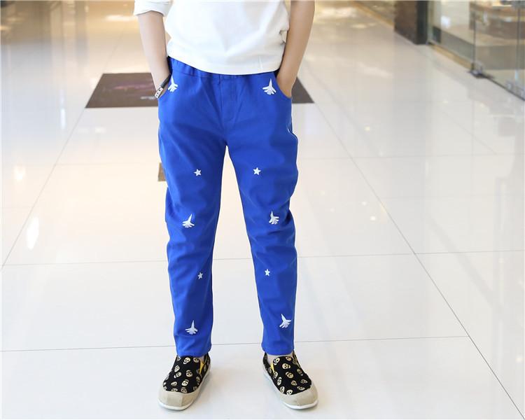 【小飞机五角星休闲裤】-母婴-裤子