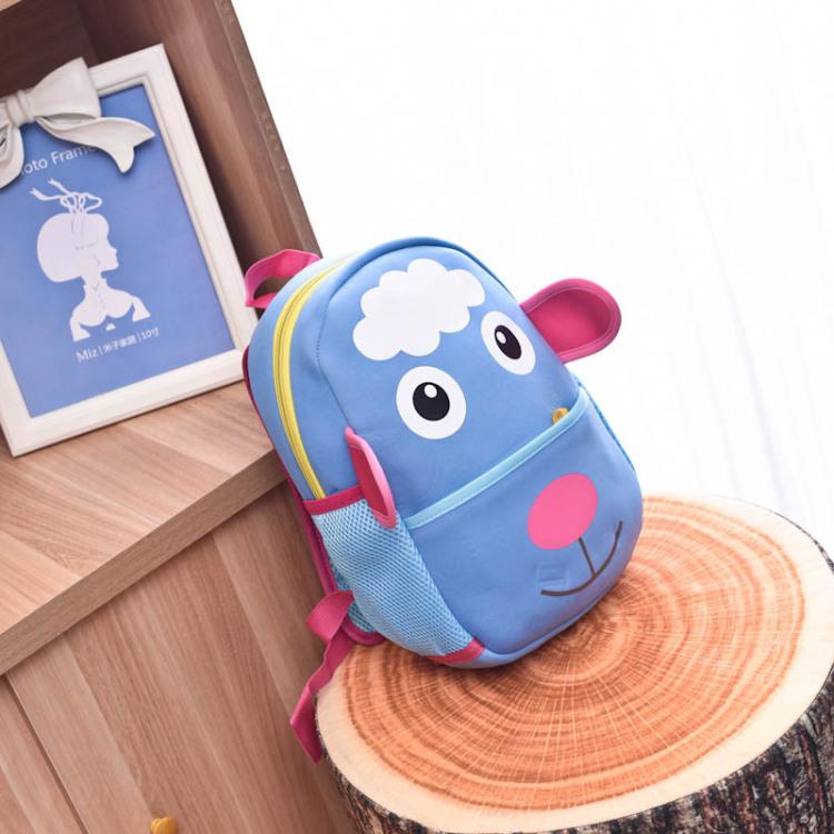 【新款韩版儿童书包幼儿园男女小羊可爱卡通图案书包