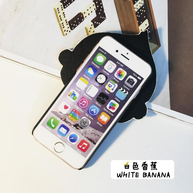 韩国代购可爱猴子iphone6s手机壳波点条纹卡通苹果6p