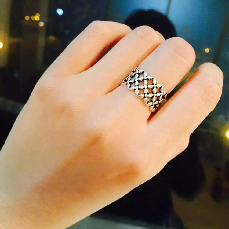s925纯银潘多拉戒指