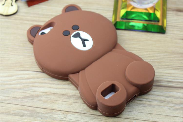 oppoa33卡通小清新泰迪布朗熊龙猫糖宝黑加菲猫硅胶手机壳