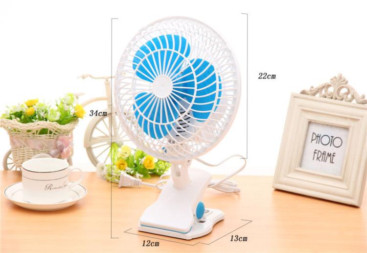 (可摇头)学生电风扇可以夹可以刮台式风扇