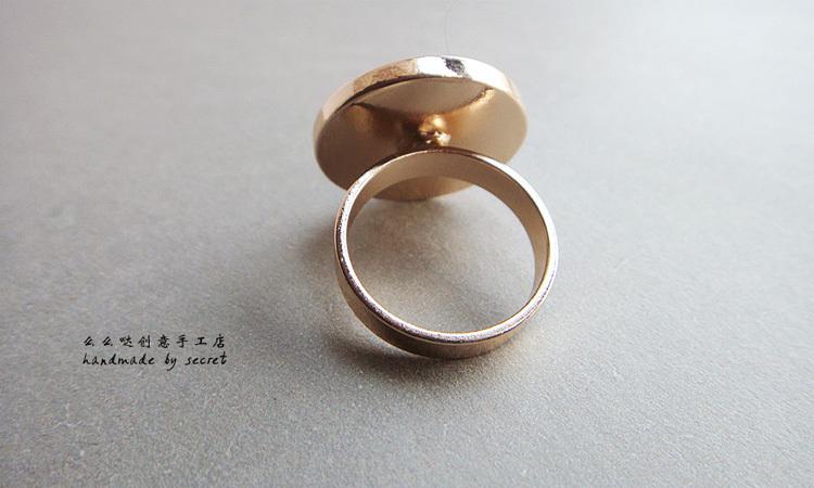 【地球花纹戒指】-配饰-饰品/流行首饰/时尚饰品